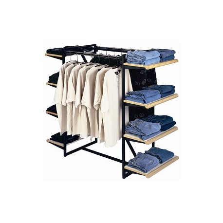 Designer 411 Double Rail Combination Rack