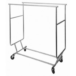 Double Bar Heavy-Duty Collapsible Rack
