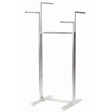 Satin Chrome 4-Way Rack