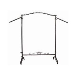 Arched Vintage Style Rolling Rack