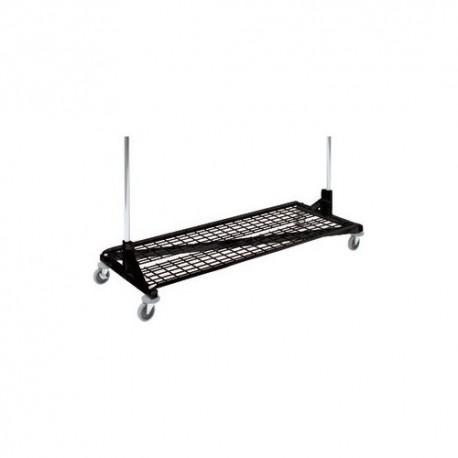 "Black Base Shelf for ""Z"" Racks"