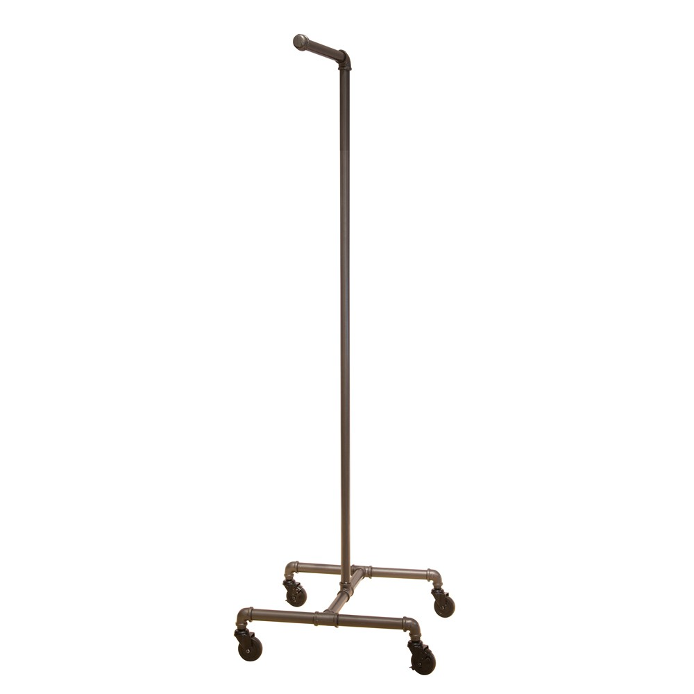 c stationary rw pipe for black pplnrckcrv double garment fixtures zoom tiered bars stores racks displays clothing rack department rolling