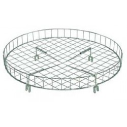 "30"" Diameter Wire Top Basket for Round Racks"