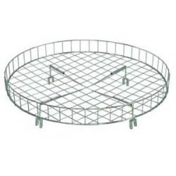"30"" Diameter Wire Top Basket for Round Racks"