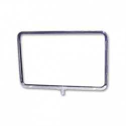 "Horizontal Chrome Sign Frame 7"" x 11"""