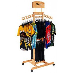 Tower Wooden Clothing Rack