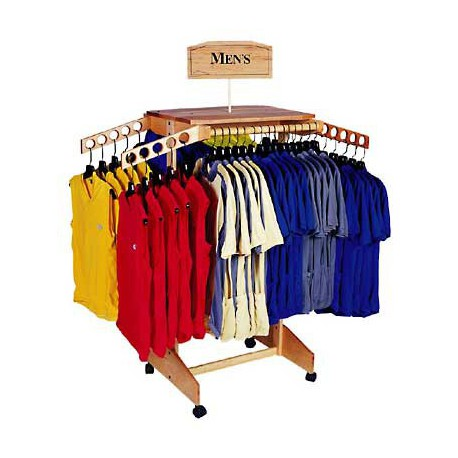 Standard Wooden Clothing Rack