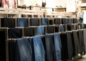Jeans-Display